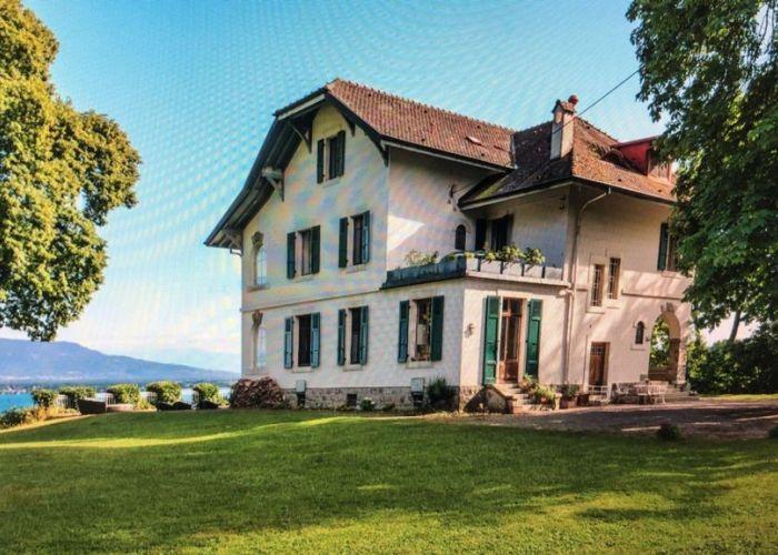 Magnifique propriété de maître avec vue imprenable sur le lac et les Alpes