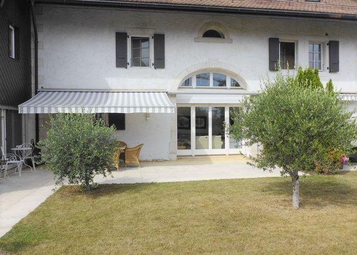 Bel appartement de 3.5 pièces avec jardin, dans une ancienne ferme rénovée