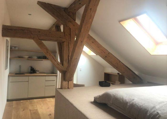 Magnifique studio meublé dans corps de ferme